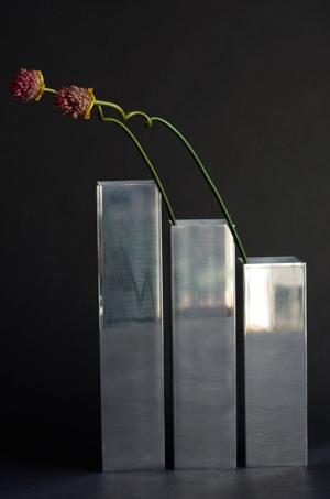 アルミ花瓶,フラワーベース,メタル